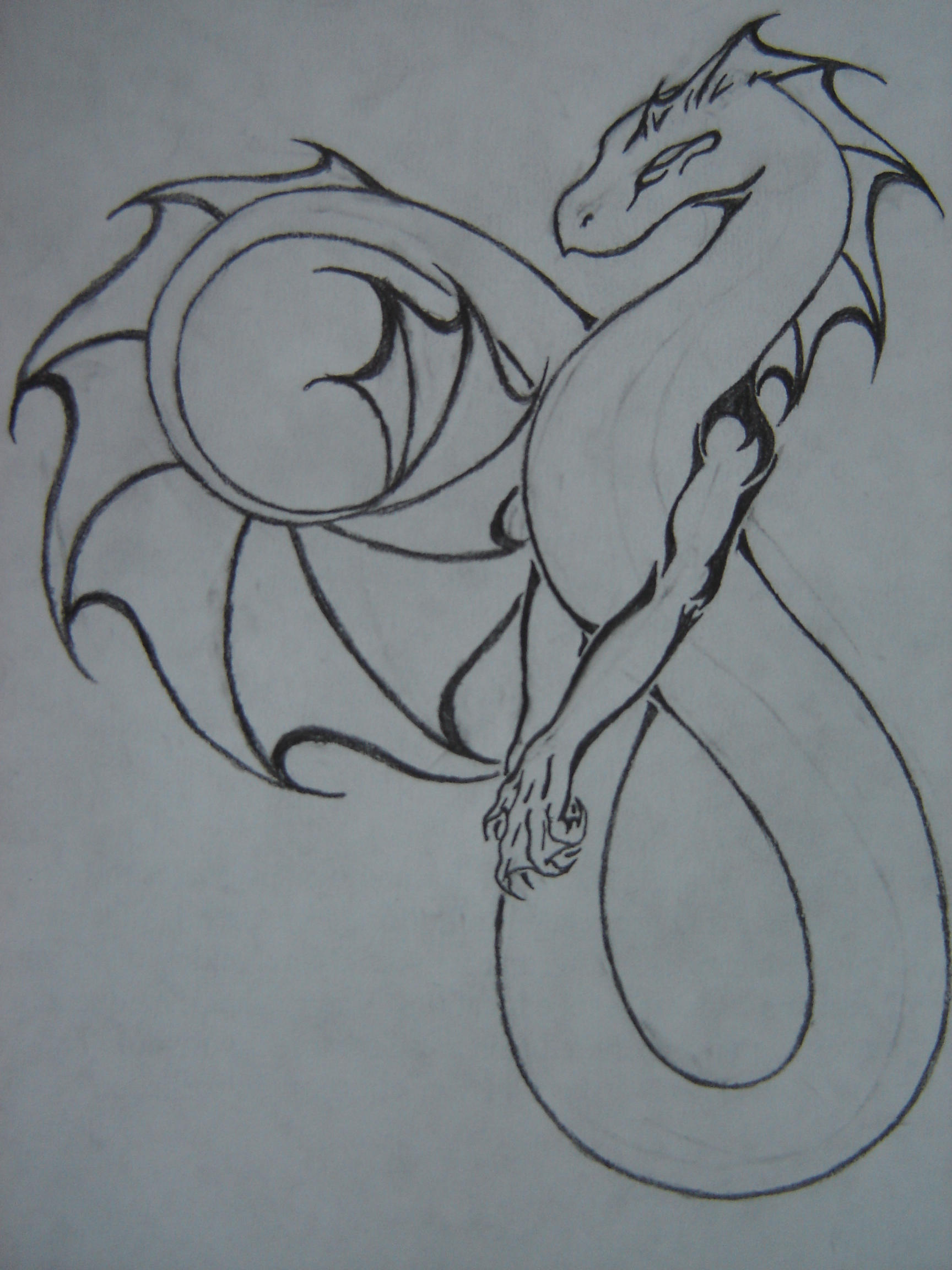 Sea dragon tattoo by ariuson on deviantart for Sea dragon tattoo