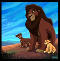King Kovu by TLK-Ileana