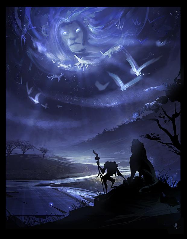 The great spirits by TLK-Ileana