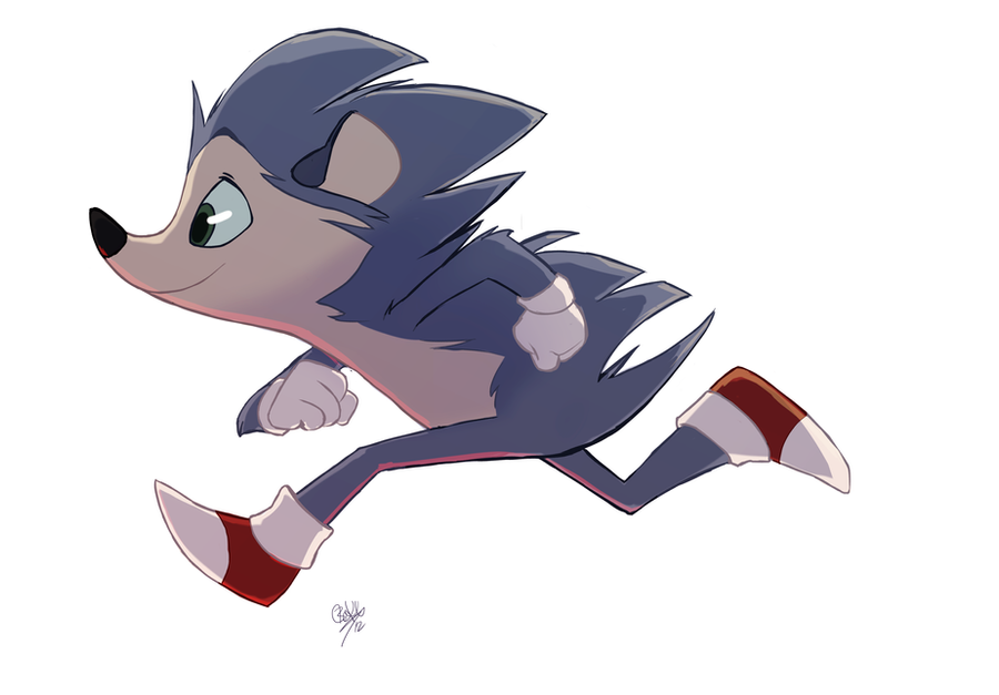 Sonic the Hedgehog by rollingrabbit by EHH123