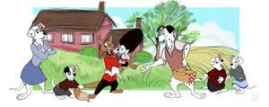 Disney Anthros: 101 Dalmatians by itsbetsy