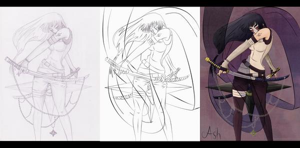 Making: Hinata ANBU by AshStrange on deviantART