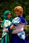 Eternal Sailor Neptune and Uranus by MerielCosplay