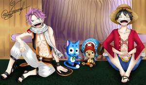 Crossover: Fairy tail and One Piece