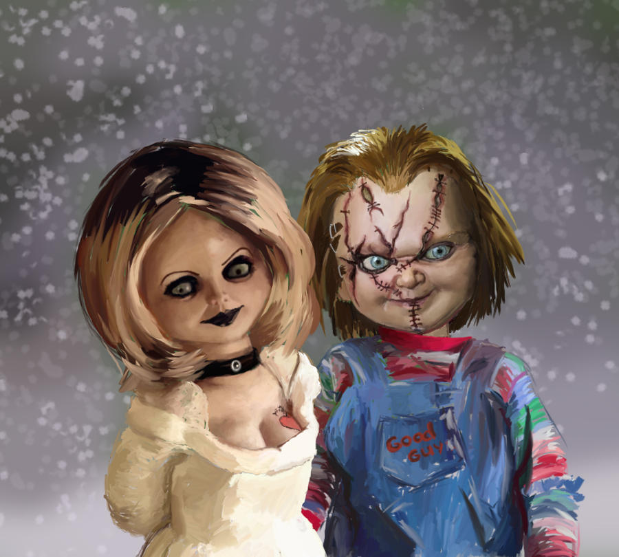 Chucky Wallpapers: Chucky And Tiffany By MsBlake On DeviantArt