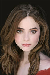 Lily Collins by msBlake
