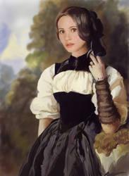Christine Daae - A Swiss Girl by msBlake