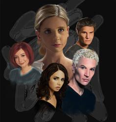 Buffy the Vampire Slayer by msBlake