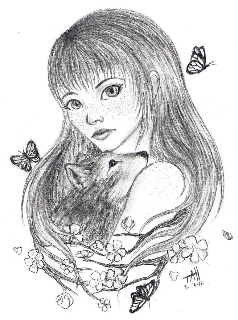 nature girl by fadeddreams5 on deviantart