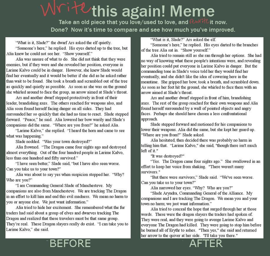 Write This Again by FadedDreams5