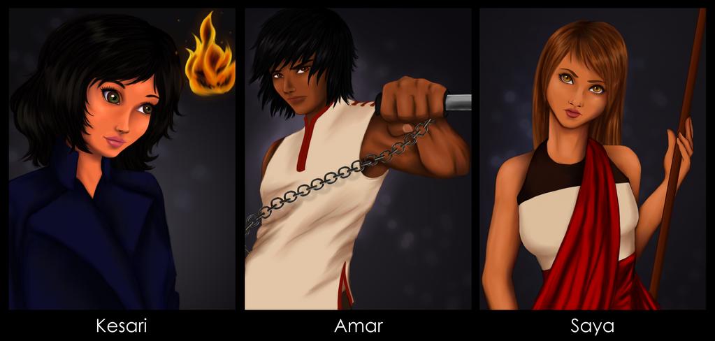 New Characters by FadedDreams5