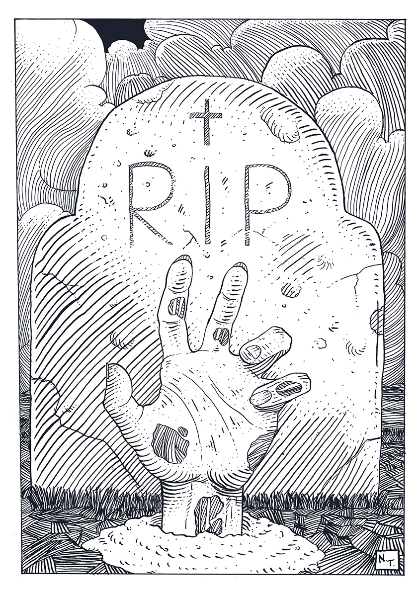 R.I.P. by NickTeo