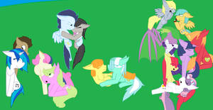MLP-Love in the shade of the hill