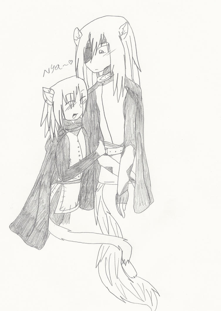 Rai x Konoe-Nya~ by Creamecream