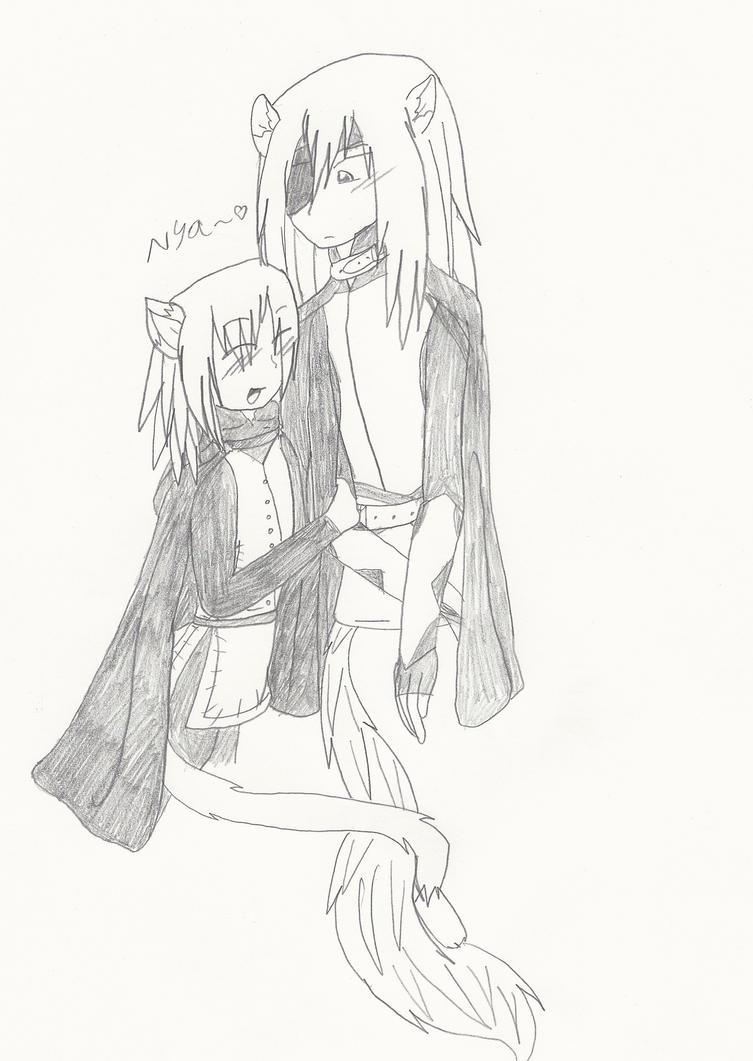 Rai x Konoe-Nya~ by Creamecream