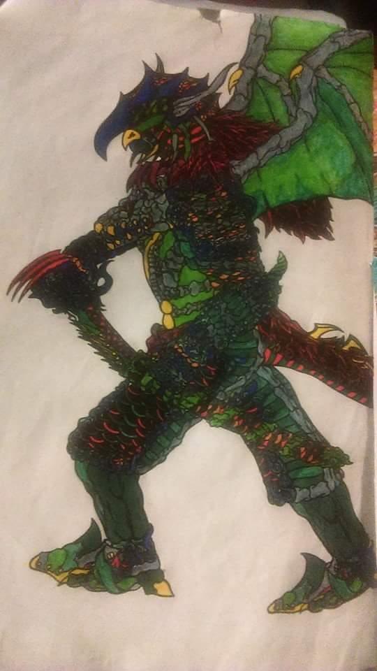 Ryu Asha-Corou by kingwolffighter