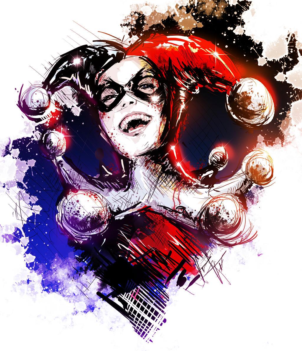 New Harley Quinn Sketch By VVernacatola On DeviantArt