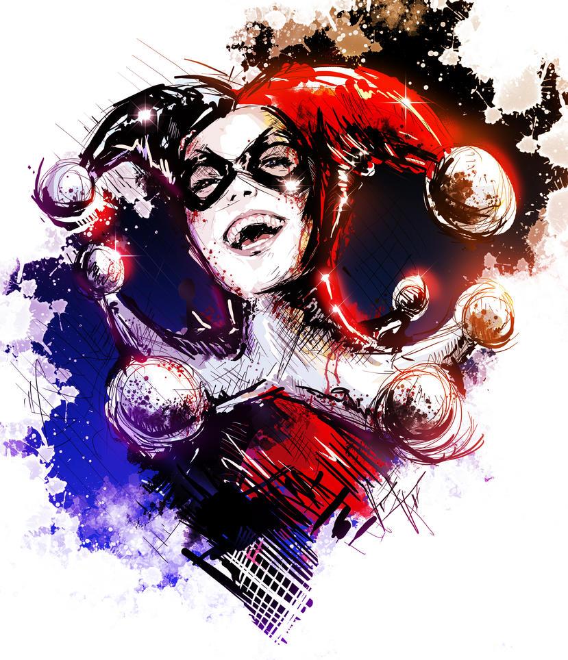 Harley Quinn Drawing: New Harley Quinn Sketch By VVernacatola On DeviantArt