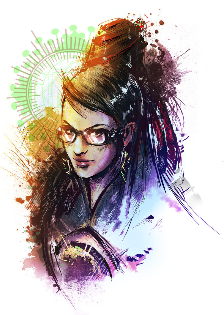 Bayonetta by VVernacatola