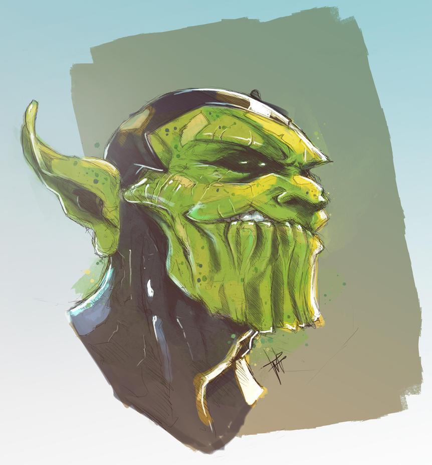 The Super-Skrull by VVernacatola