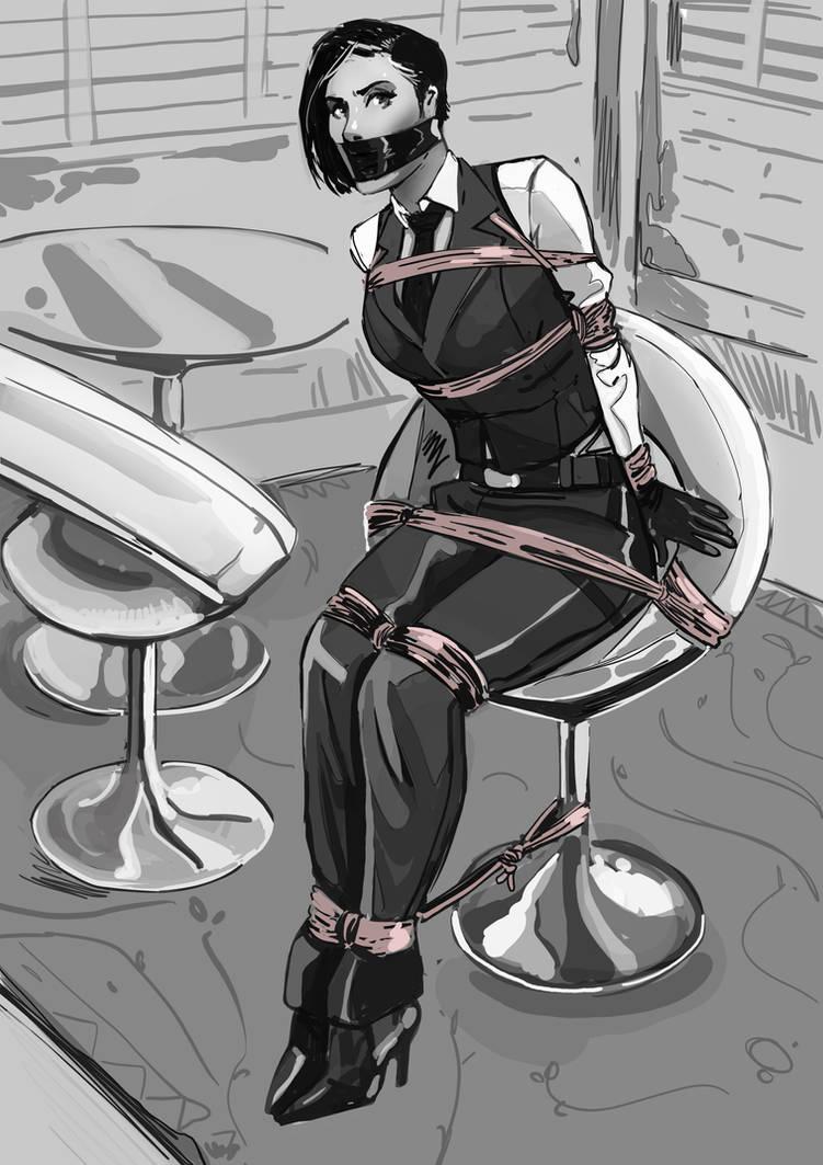 Silent Assassin by OneEyeHound