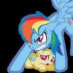 MLP Base - GTFO, boi [Rainbow Dash version]