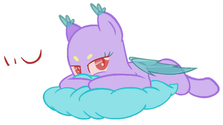 MLP Base - Sleepy Batpony by Tech-Kitten