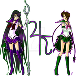 Neo Sailors: Saturn and Jupiter