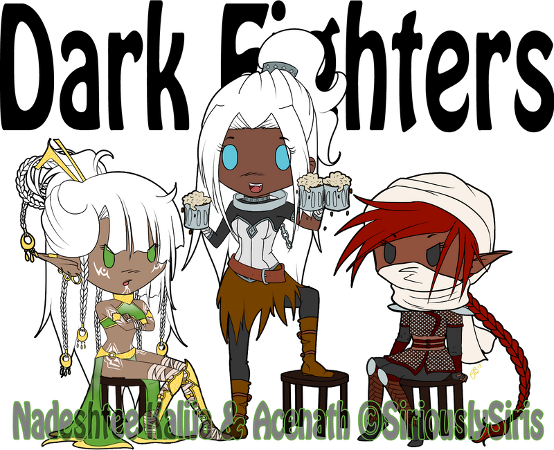Dark Fighters by SiriouslySiris