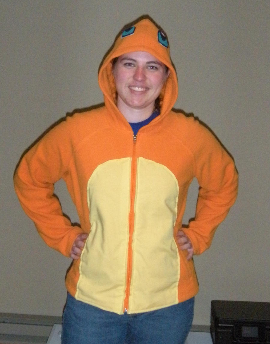 Charmander Front View by The-Leeward-Voyage