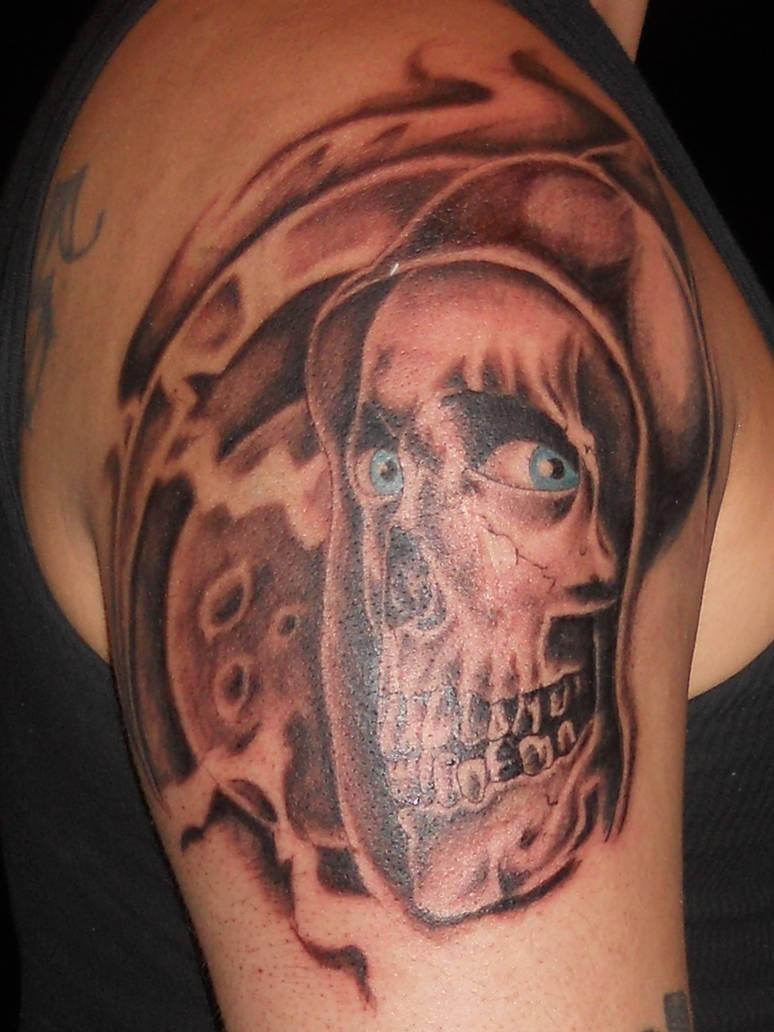 evil dead grim reaper? by TANQUE86 on DeviantArt