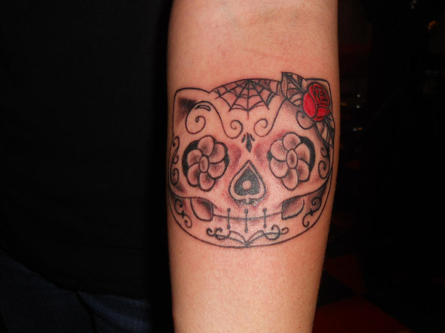Hello Kitty Sugar Skull by TANQUE86