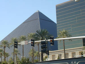 Pyramid in Vegas