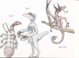 OblivionJunky94 Alien Request by Transapient