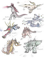Kaiju of Darwin IV by Transapient