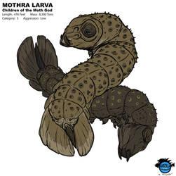 Kaiju Revolution: MOTHRA LARVA