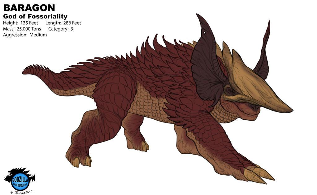 Anguirus Concept Art Best and Worse Kaiju R...
