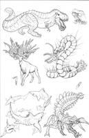 Kaiju Revolution: SKULL ISLAND MENAGERIE 5 by Transapient