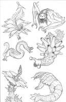 Kaiju Revolution: SKULL ISLAND MENAGERIE 8 by Transapient