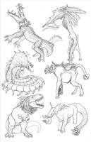 Kaiju Revolution: SKULL ISLAND MENAGERIE 10 by Transapient