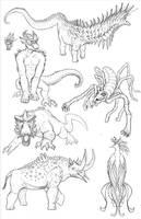 Kaiju Revolution: SKULL ISLAND MENAGERIE 12 by Transapient
