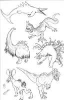 Kaiju Revolution: SKULL ISLAND MENAGERIE 13 by Transapient