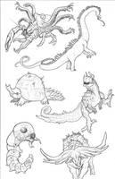 Kaiju Revolution: SKULL ISLAND MENAGERIE 15 by Transapient