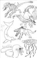 Kaiju Revolution: SKULL ISLAND MENAGERIE 17 by Transapient