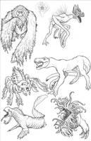 Kaiju Revolution: SKULL ISLAND MENAGERIE 19 by Transapient