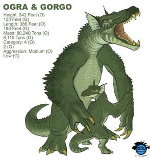Kaiju Revolution: OGRA and GORGO