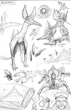 Kaiju Revolution Races:  MAHAR