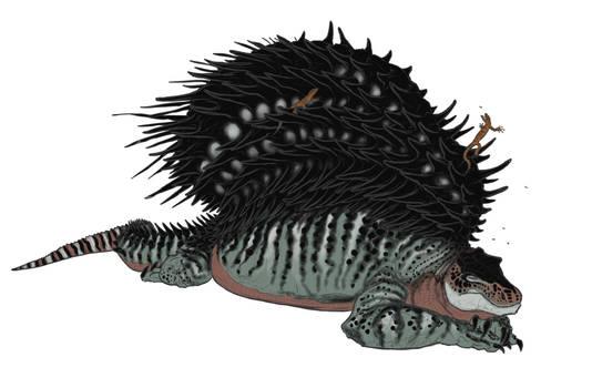 Sleepy Spiny Symbiotic Edaphosaurus
