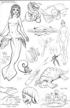 Kaiju Revolution Races: SEATOPIAN