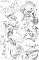 Kaiju Revolution Races:  MORLOCK